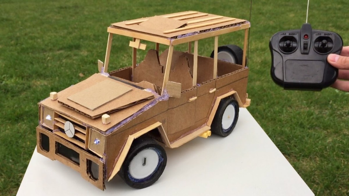 How to Make Remote Control Car - Mercedes-Benz G class - Awesome Toy DIY