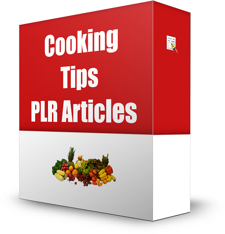 Cooking PLR Article